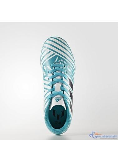 adidas Erkek Çocuk  Halı Saha Ayakkabısı S77206 Renkli